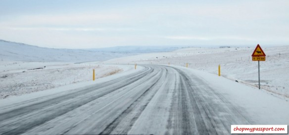 Iceland self drive Egilsstaoir to Myvatn lake driving conditions