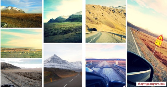 Iceland self drive Hofn to Egilsstaoir empty roads terrain tunnels mountains meadows