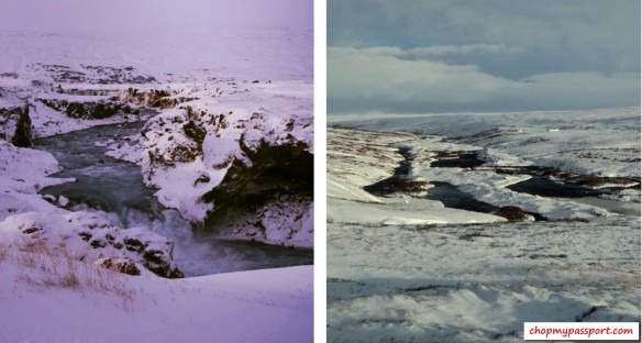 Iceland self drive Myvatn to Varmahlio lakes rivers geothermal activity snow