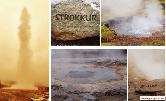 Iceland top attractions geysir hot spring strokkur lil geysir mud pots erupts golden circle