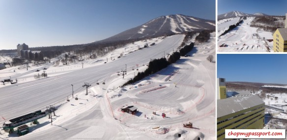 ski @ appi 2.5hrs on Hayate to Morioka from Tokyo