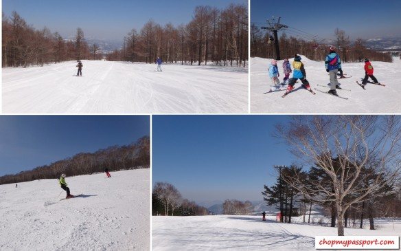 ski @ appi wide slopes and runs good for beginners