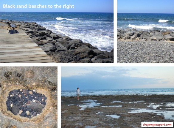 tenerife natural black volcanic sand beaches vacation atlantic ocean