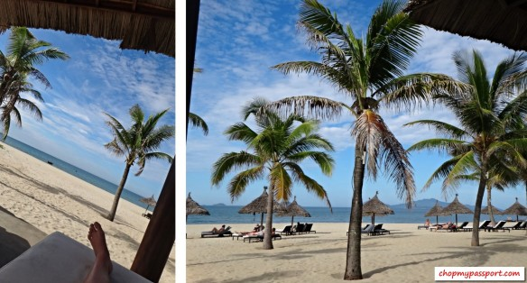 Hoi An holiday and relaxing in Vienam Cua Dai beach