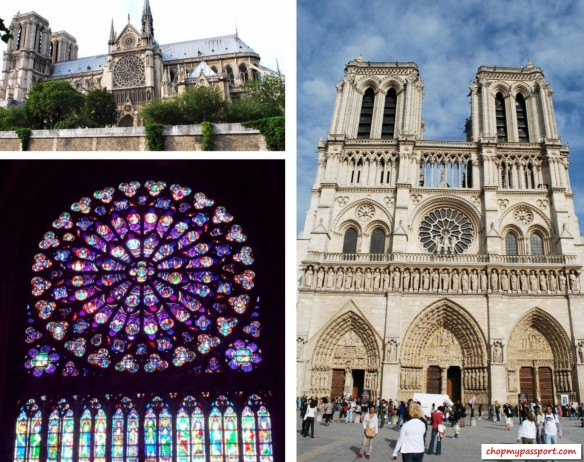 Paris Notre Dame Cathedral Must See Travel France Stained Glass Church
