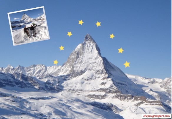 Ski Zermatt Matterhorn Swiss Alps Peak Paramount Pictures