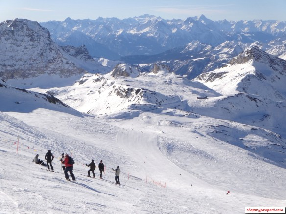 Ski Zermatt Breuil Cervinia Valtournenche Italy Switzerland