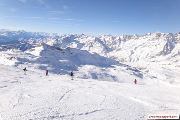 Ski Zermatt Breuil Cervinia Valtournenche Matterhorn Paradise Swiss Alps
