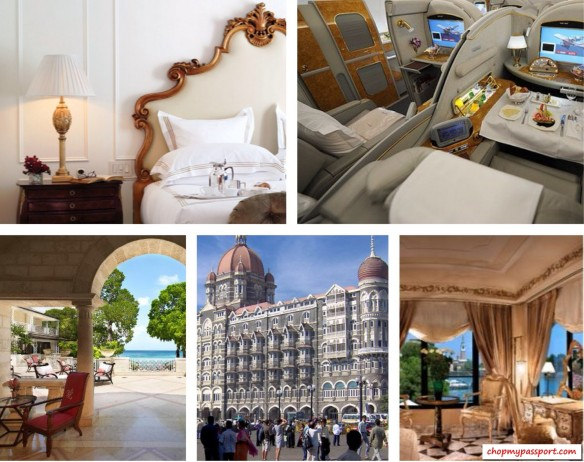 Barbados Sandy Lane Paris Hotel George V NY The Plaza Taj Mahal Venice Cipriani Moscow Ritz Carlton